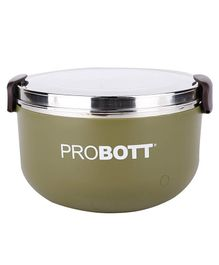 Probott Stainless Steel Lunch Container - Olive Green