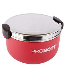 Probott Stainless Steel Lunch Container - Red