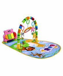 Fiddlerz Play Gym with Musical Piano Toy - Multicolor