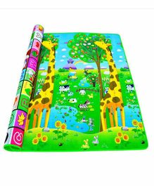 Fiddlerz EVA Foam Double Sided Play Mat (Colour & Design May Vary)