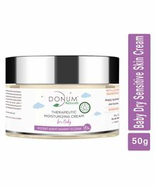 Donum Naturals Chemical Free Dry Sensitive Skin Moisturizing Protect & Repairing Cream For Baby - 50 gm