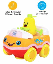 Mee Mee Bump N Go Fruit Car - (Color May Vary)