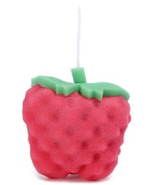 Strawberry Shape Bath Sponge - Red