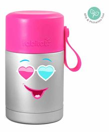 Rabitat Mealmate Stainless Steel Insulated Food Jar - Pink Silver