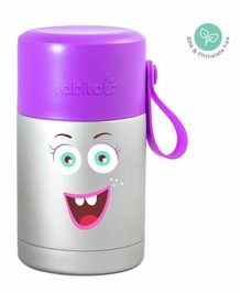 Rabitat Mealmate Stainless Steel Insulated Food Jar - Purple Silver