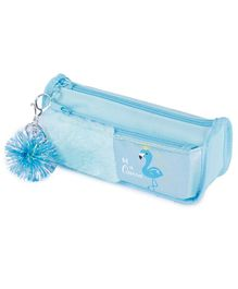 Webby Pencil Pouch- Blue