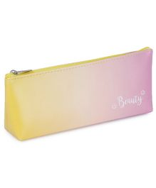 Webby Pencil Pouch- Yellow