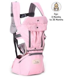 3 Ways Carrier With Storage Pocket - Pink