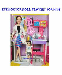 Shanaya Eye Doctor Doll with Accessories - Height 30 cm