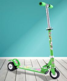 Three Wheel Kid's Scooter - Green