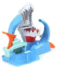 Hot Wheels Robo Shark Frenzy Play Set - Blue