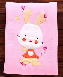 PERSONALISED BABY BLANKET  /'/'OLD TOY/'/' DESIGNS   PINK//CREAM or BLUE//CREAM