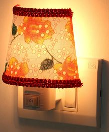 Baby Night Lamp with Lace (Color and Design May Vary)