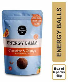 The Butternut Co. Chocolate & Orange Energy Balls Pack of 6 - 48 gm each