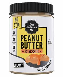 The Butternut Co. Creamy Peanut Butter with Jaggery - 1 Kg
