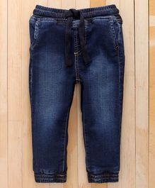 UCB Full Length Solid Color Jeans - Dark Blue