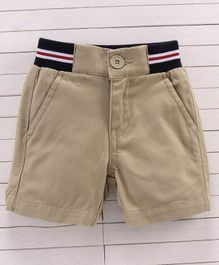UCB Solid Color Shorts - Brown