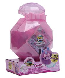 Pikmi Pops Cheeki Puffs Scented Shimmer Plush Toy in Perfume with Surprises -  Purple