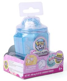 Pikmi Pops Cheeki Puffs Scented Shimmer Plush Toy in Perfume with Surprises - Blue