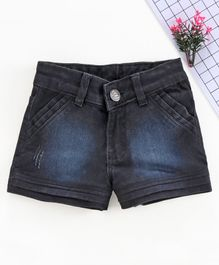 Chicklets Solid Shorts - Black