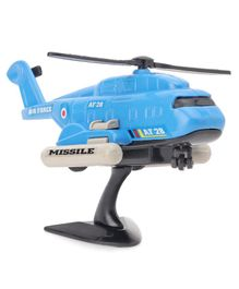 Shinsei Pull Back & Go I.A.F Toy Helicopter (Color May Vary)