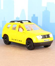 Shinsei Pull Back Duster SUV Car Toy - Yellow