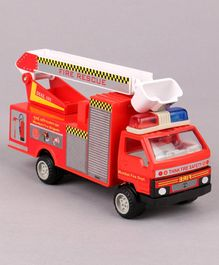Shinsei Fire Brigade Pull Back Toy - (Color May Vary)