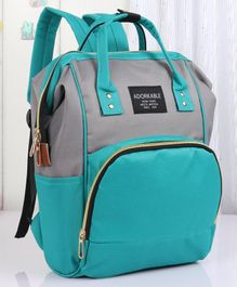 Backpack Style Diaper Bag - Green