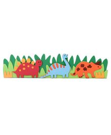 Dino Themed Wall Sticker - Multicolour