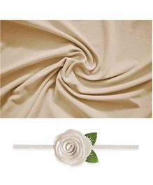 Bembika Baby Wrap Photo Prop - Cream