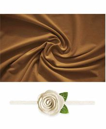 Bembika Baby Wrap Photo Prop - Brown