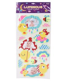 Luminous Frame Sticker Multicolor - 11 Pieces
