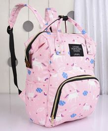 Backpack Style Diaper Bag - Pink