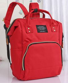 Backpack Style Diaper Bag - Red