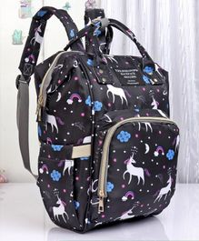 Backpack Style Diaper Bag - Black