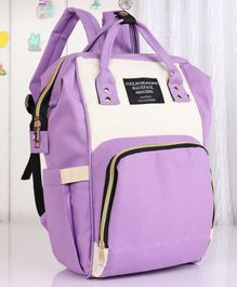 Backpack Style Diaper Bag - Purple