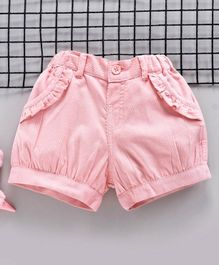 Toffyhouse Mid Thigh Length Shorts - Pink