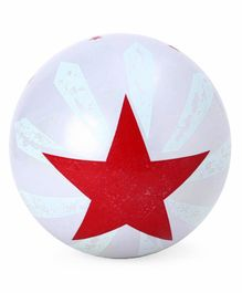 PVC Soft Ball - Silver (Print May Vary)