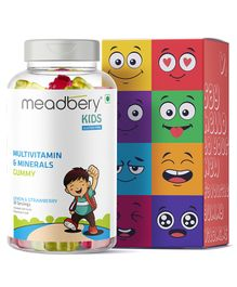 Meadbery Multivitamin and Mineral Gummy Bears - 2.5 gm Each - 30 Pieces