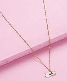 Arendelle Cat Charm Pendant - White & Black