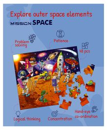 Palyqid Mission Space Floor Puzzle - 48 Pieces