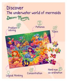 Palyqid Dreamy Mermaids Puzzle - 72 pieces