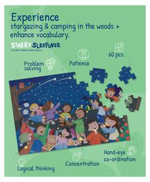 Palyqid Starry Sleepover Jumbo Puzzle - 60 Pieces