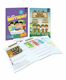 Luma World Terra Loop Educational Board Game Pack of 5 - Multicolor