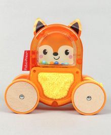 Fisher Price Rollin' Surprise Fox Push Along Toy (Colour May Vary)