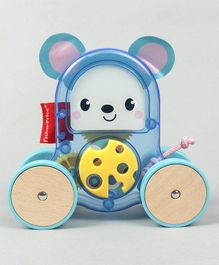 Fisher Price Rollin' Surprise Mouse Push Along Toy (Colour May Vary)