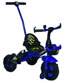 Cosmo Xtreme Tricycle with Push Handle - Blue Black
