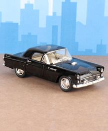Kinsmart Die Cast Pull Back 1955 Ford Thunderbird  Toy Car - Black