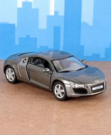 Kinsmart Die Cast Pull Back Audi R8 Toy Car - Grey