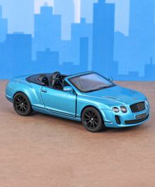 Kinsmart Die Cast Pull Back Bentley Toy Car - Blue